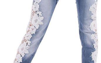 Dámské jeansové kalhoty Realty vel. L / 40