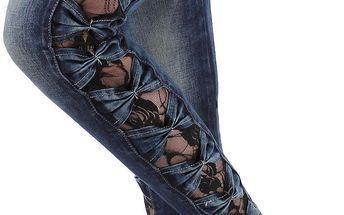 Dámské jeansové kalhoty Simply Chic vel. EUR 36 (S)