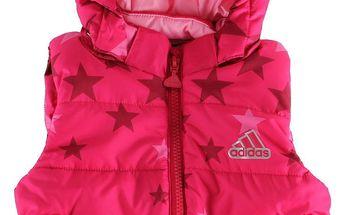 Dívčí zimní vesta Adidas Performance vel. 0 - 3 měsíce, 62 cm