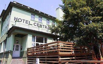 3–7denní wellness pobyt se snídaní pro 2 v hotelu Centrál *** v Klatovech