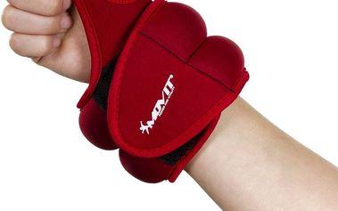 MOVIT neoprenová kondiční zátěž 1,0 kg, červená