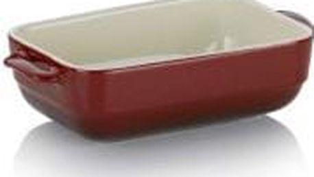 Zapékací mísa MALIN 22,5 x 12,5 cm červená KELA KL-11860