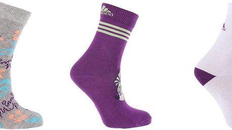 Dívčí ponožky Adidas Disney - 3 ks vel. EUR 23 - 26
