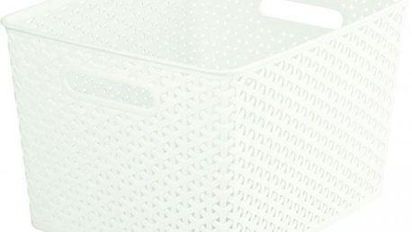 Plastový košík MY STYLE L - krémový CURVER