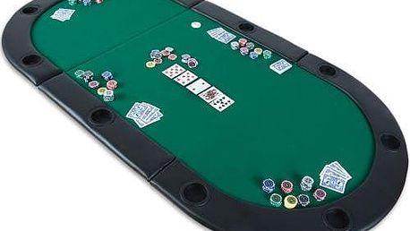 MAX 2031 Poker podložka skládací zelená
