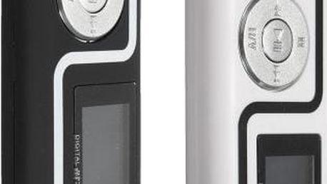MP3 přehrávač podporující Micro SD karty do 8GB - poštovné zdarma