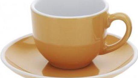 Hrnek na espresso 90 ml, oranžový EXCELLENT KO-Q75100420oran