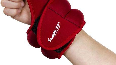 Movit 33073 Neoprenová kondiční zátěž 1,0 kg, červená