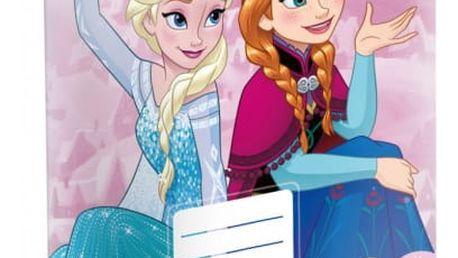 Školní sešit - Ledové království - Elsa a Anna - č. 420 - 5 kusů - dodání do 2 dnů