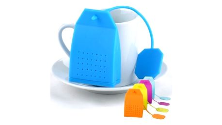 Sítko na čaj v podobě čajového sáčku