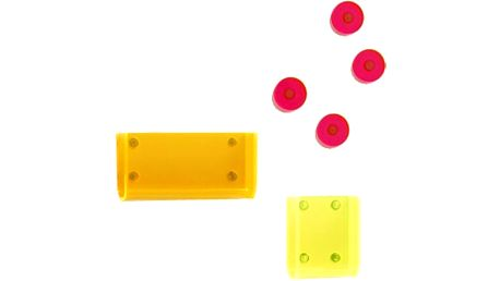 Neon Living Magnetické M-Box úložné kapsy s magnety, set 6 ks