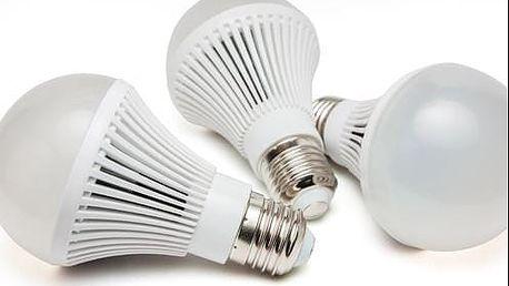 9W LED žárovky - 3 ks s poštovným zdarma