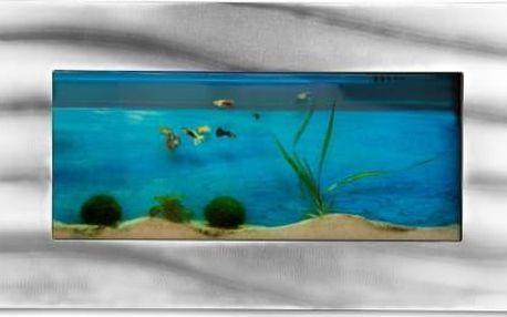 MAX 1395 Nástěnné akvárium 590 x 325 x 110 mm