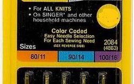 Příslušenství pro šicí stroje Singer - jehly BLISTER 848 - 2045/70,80,90 5 ks