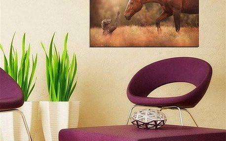 Dekorativní plakát z umělé textilie