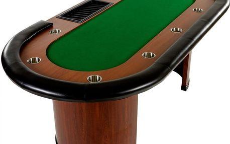 Tuin Royal Flush 32443 XXL pokerový stůl, 213 x 106 x 75cm, zelená