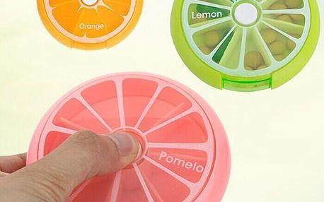 Krabička na léky v designu ovoce - dodání do 2 dnů