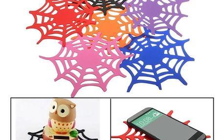 Nanopodložka do auta v podobě pavučiny - 6 barev