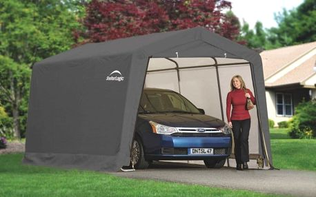 ShelterLogic plachtová garáž SHELTERLOGIC 3,0 x 6,1 m - 62634EU