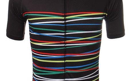 Pánský cyklistický dres s krátkým rukávem