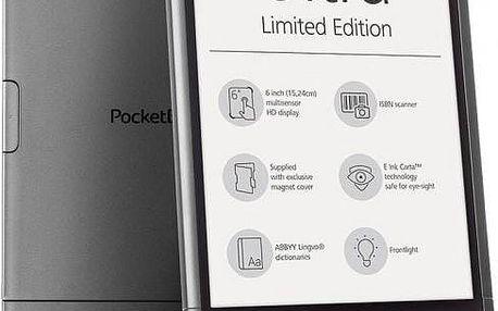PocketBook 650 Ultra, šedá Limitovaná edice + magnetické pouzdro