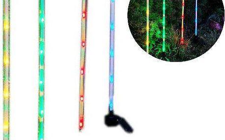 4x LED světelná sada Garth - barevné tyčky