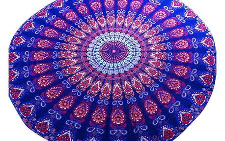 Plážový šátek - Mandala