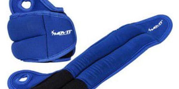 Movit 33070 Neoprenová kondiční zátěž 1,5 kg, modrá3