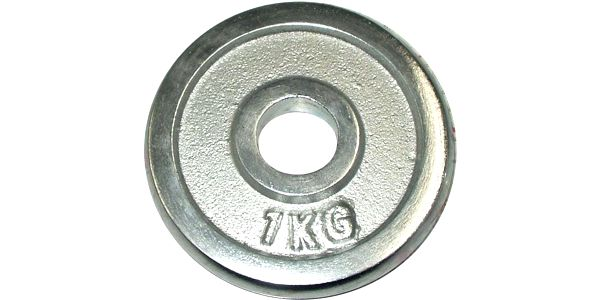 Kotouč chrom 1kg - 25 mm