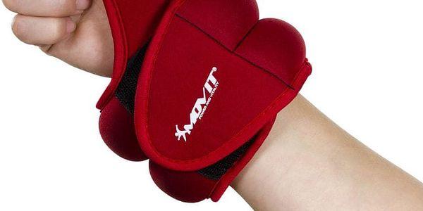 Movit 33075 Neoprenová kondiční zátěž 2,0 kg, červená