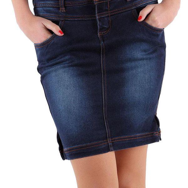 Dámská jeansová sukně Fresh Made vel. XL