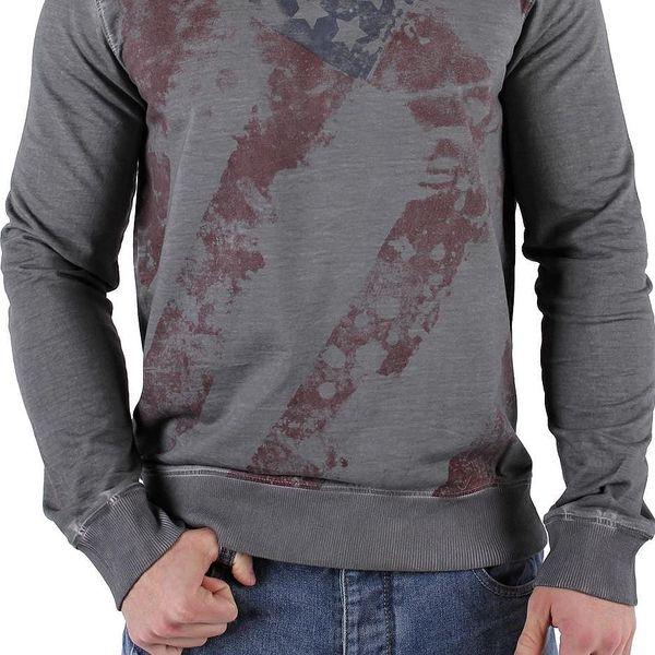 Pánské tričko s dlouhým rukávem 98 - 86 vel. XL