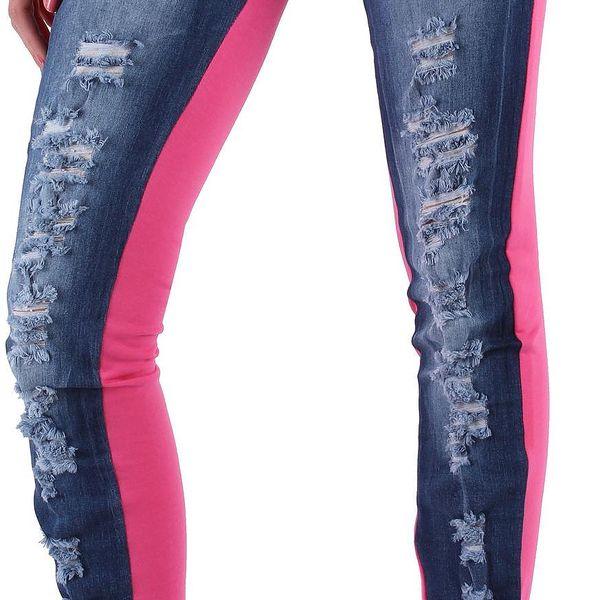 Dámské jeansové kalhoty Jela London vel. EUR 42, UK 16