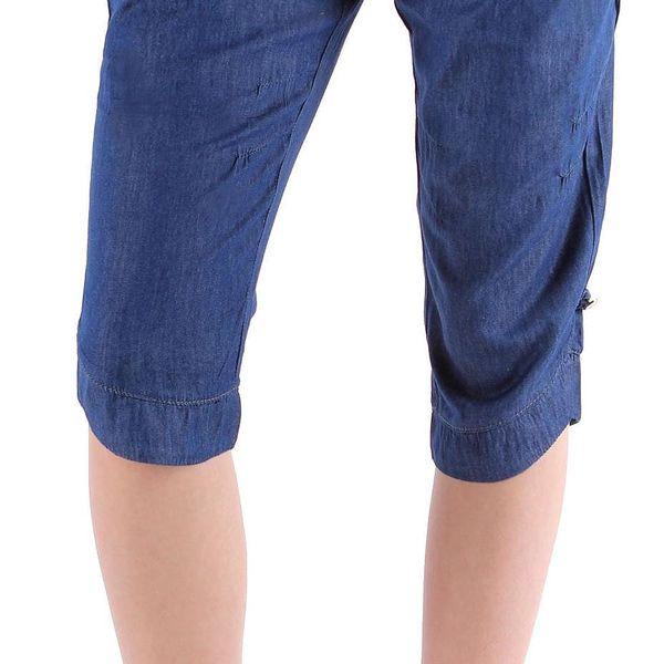 Dámské 3/4 plátěné kalhoty Gemello vel. EUR 28 (M)