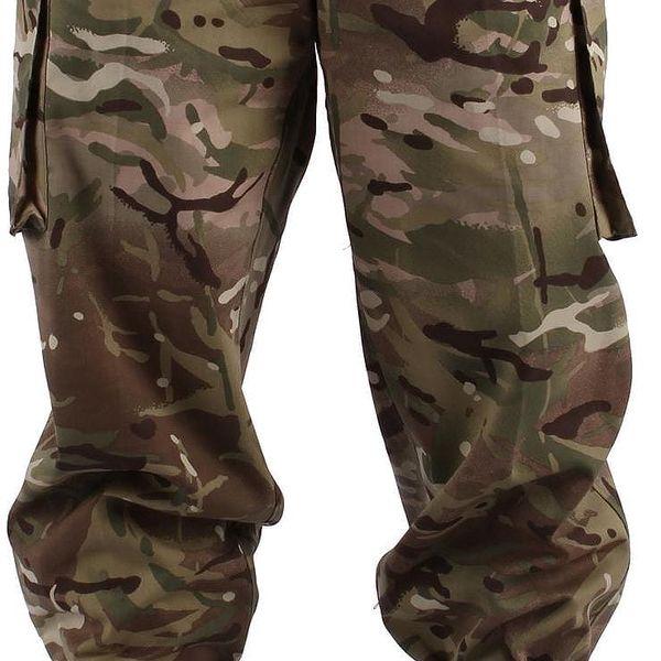 Vojenské kalhoty britské armády vel. M