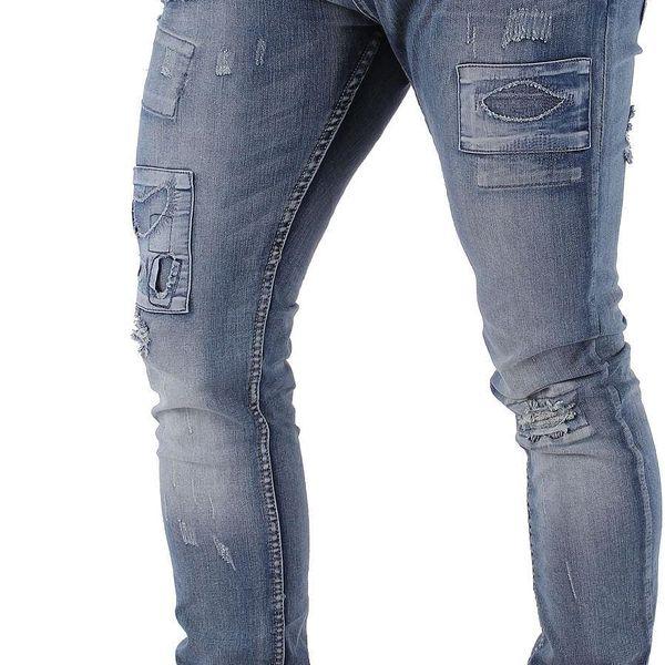 Pánské jeansové kalhoty Sky Rebel vel. W 33, L 32