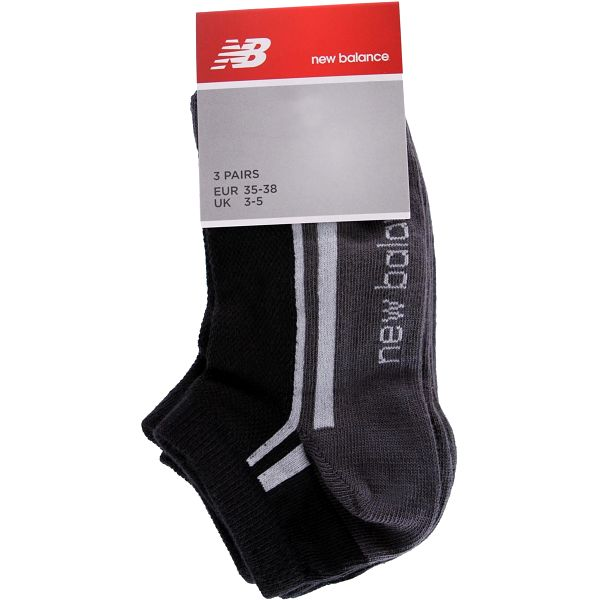 Sportovní ponožky New Balance - 3 ks vel. EUR 35 - 38, UK 3 - 5