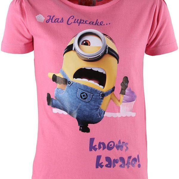 Dívčí tričko Minions vel. 10 - 12 let, 146 - 152 cm