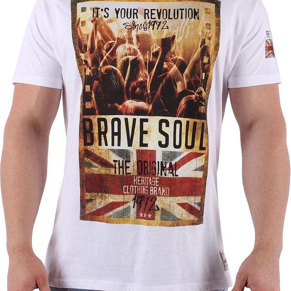 Pánské tričko Brave Soul vel. M