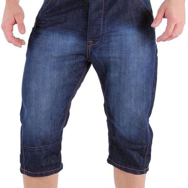 Pánské jeansové kraťasy Kangol vel. W 30