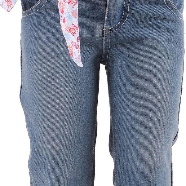 Dívčí 3/4 kalhoty Chess vel. 3 - 6 měsíců, 69 cm