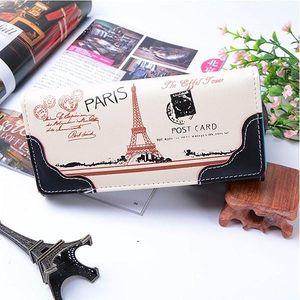 Dámská peněženka s motivem Eiffelovy věže - poštovné zdarma