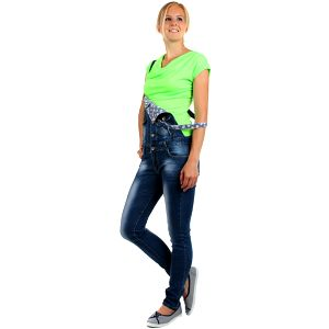 Krásné elegantní tričko neon zelená