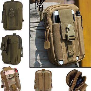 Pánská taktická taška na pásek - několik barev - poštovné zdarma