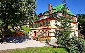 3–8denní pobyt pro 2 osoby s polopenzí v hotelu Atlas v Krkonoších