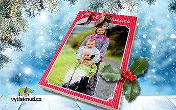 Adventní kalendář z vlastních fotek + fotokalendář, poštovné a balné v ceně