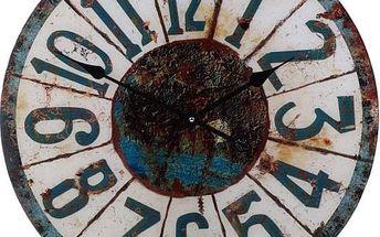 Nástěnné hodiny ROUND 57 cm - WINTER