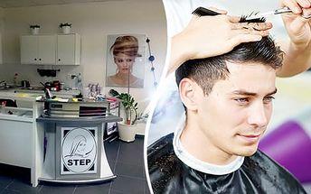 Pánský kadeřnický balíček - mytí, střih, vysoušení a konečný styling