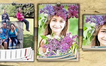 Fotokalendář z vašich fotek