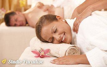 Hodinová ájurvédská nebo aromaterapeutická masáž ve studiu Paradise v Ostravě